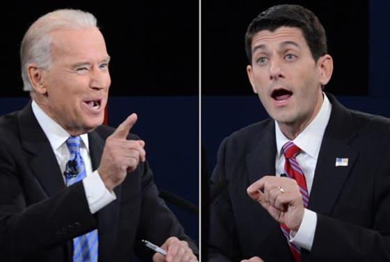 Tweets of the Vice Presidential Debate