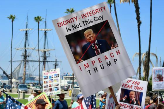 Trump Impeachment March