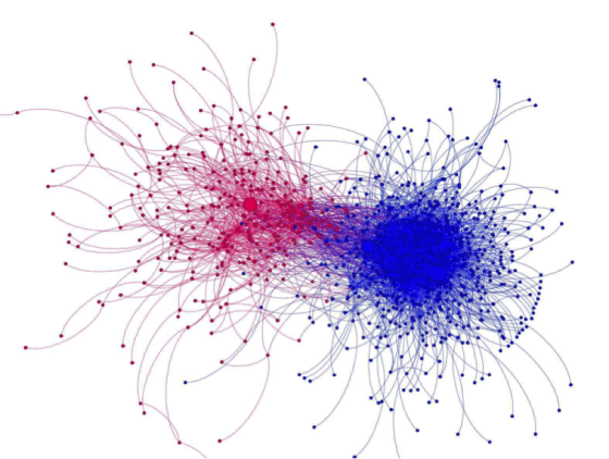 People mostly tweeted right past each other when talking about Ferguson.(Emma Piers