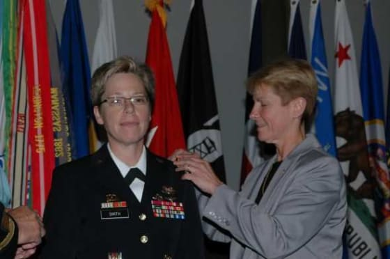 Tammy Smith promoted to Brigadier General