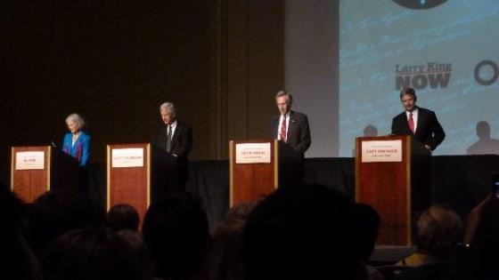 tonight's third party debate
