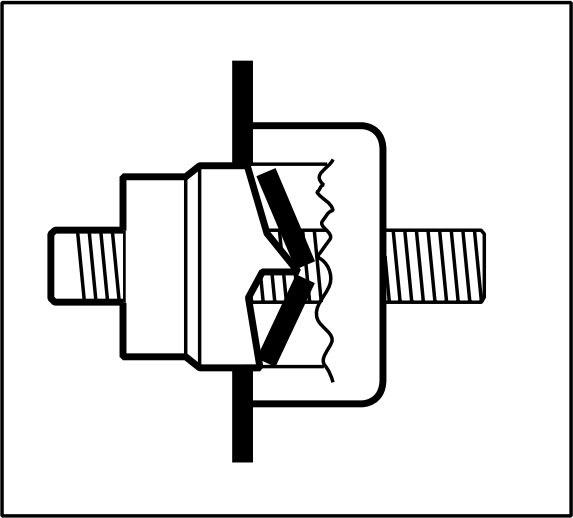 Greenlee 745H-1 SLUG SPLITTER UNIT 1 POP