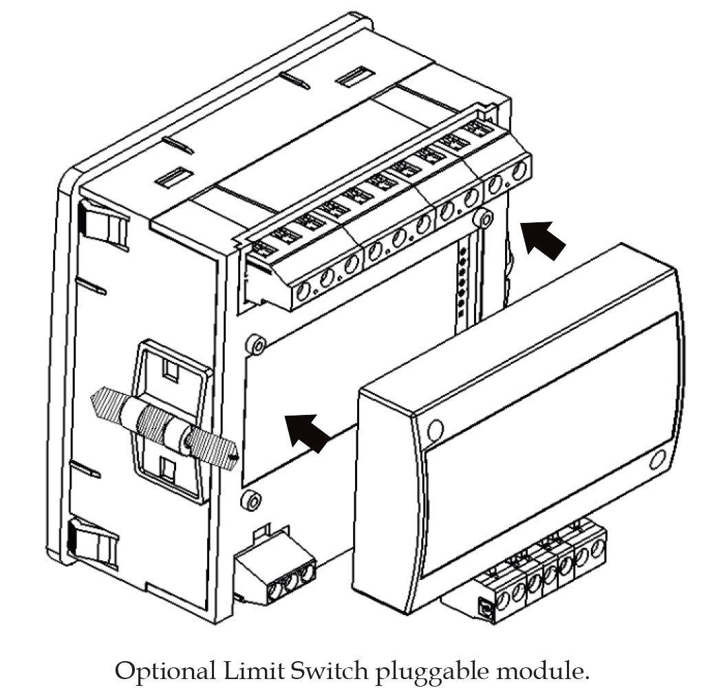 simpson a100 amik 100 three phase digital panel meter