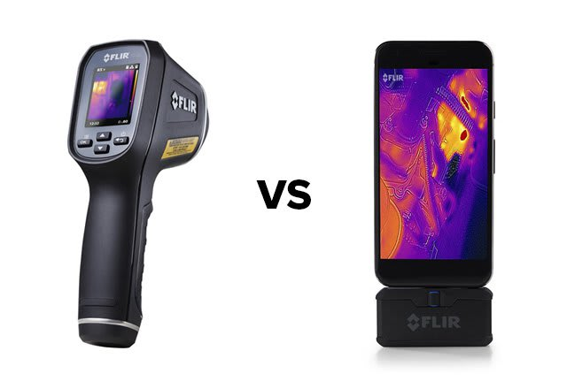 f6c43e2273 Comparison of FLIR TG165 vs FLIR ONE Pro