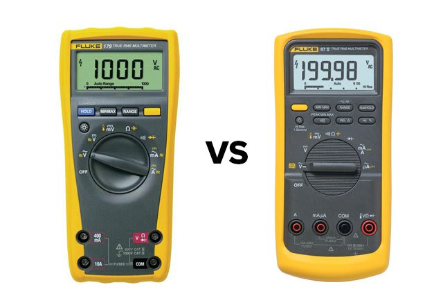 Fluke 179 vs 87-5 Digital Multimeters | TEquipment