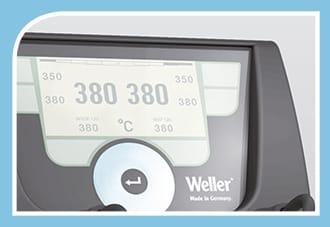 50 Hz-NEW 230 V WX2021 WELLER 2-Channel Soldering Station