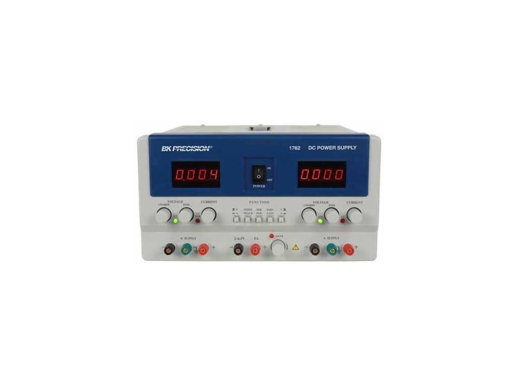 Triple Output Power Supply; 0-60V; 0-2A; 4-6.5V