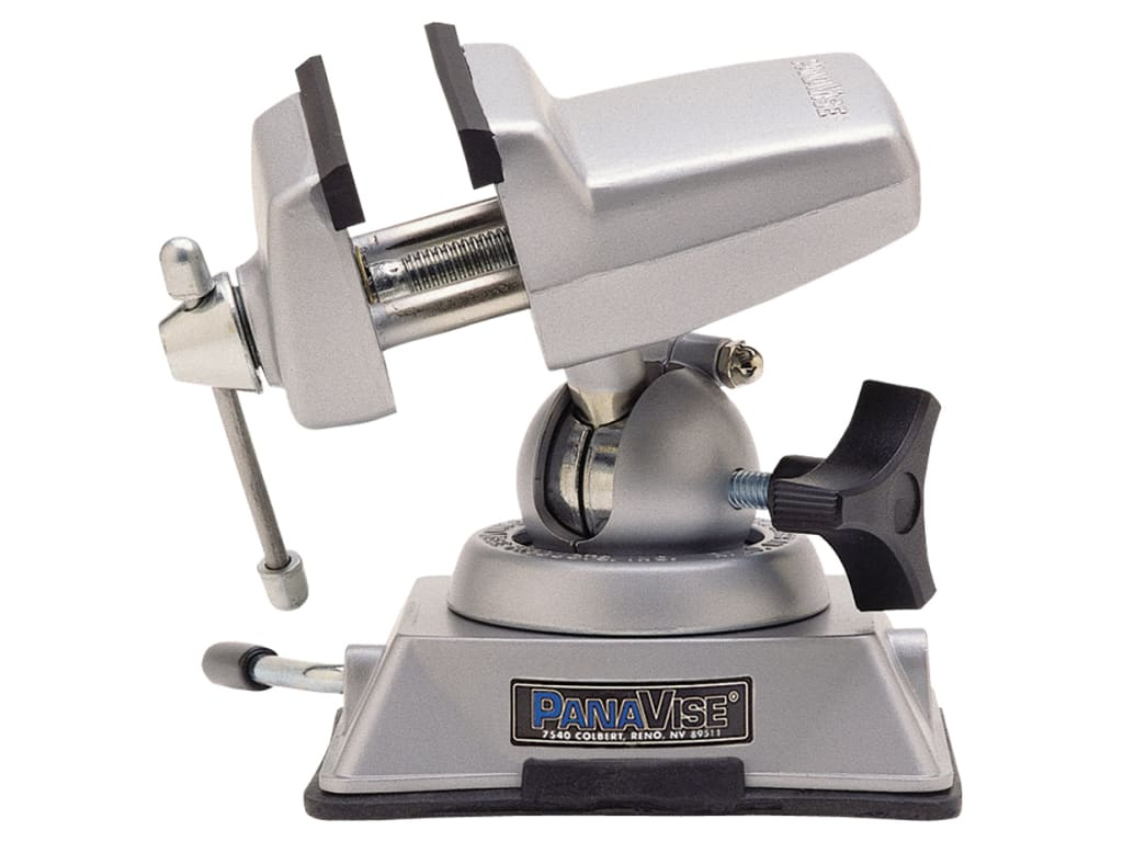 Vise Head with 5//8 Inch Shaft for 300 Series Bases Panavise 203 PV Jr