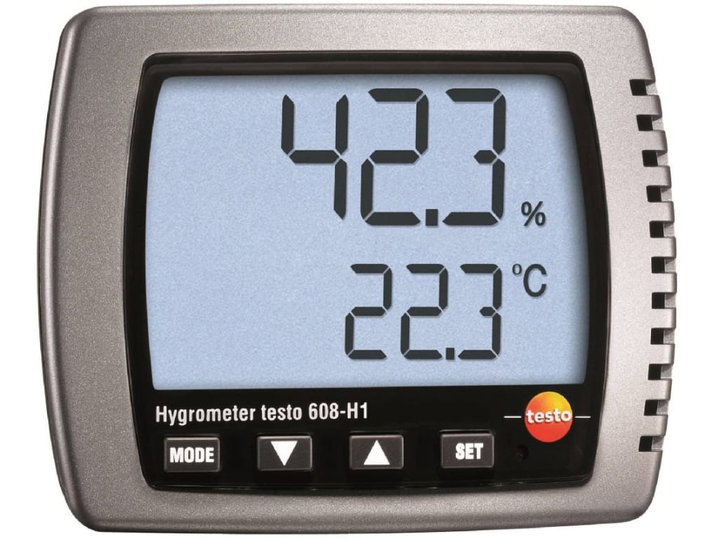 Testo 608-H1 - Thermal Hygrometer (Part Number 0560 6081) | TEquipment