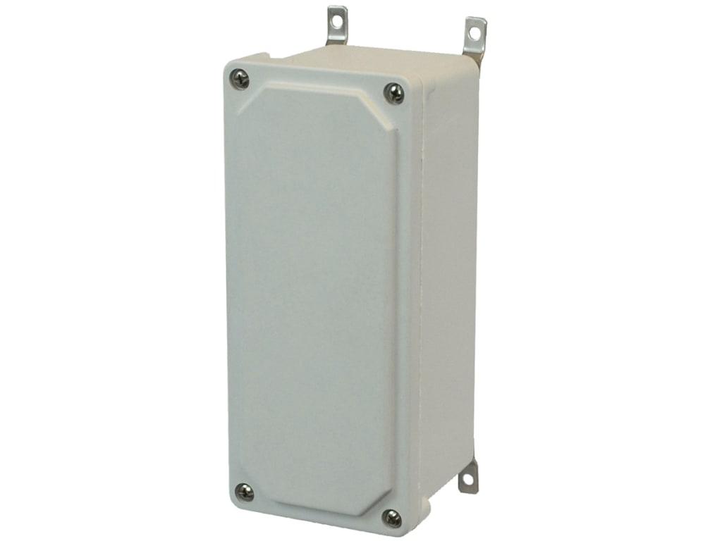 "24/"" X 24/"" X 12/"" Metal Lift Off Screw Cover Junction Box NEMA 1 Indoor Enclosure"
