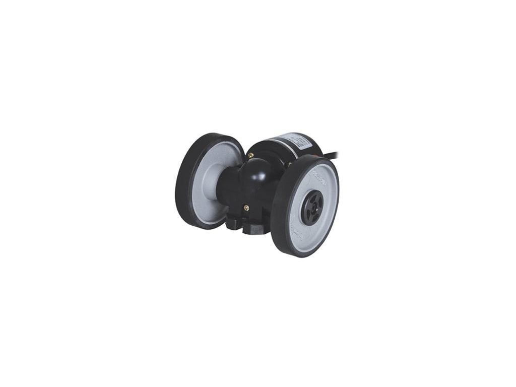 AUTONICS ENC-1-4-T-24 Encoder Incremental 1 Pulse Per 0.01 Yard 12-24 VDC Wheel Type Totem Pole Output