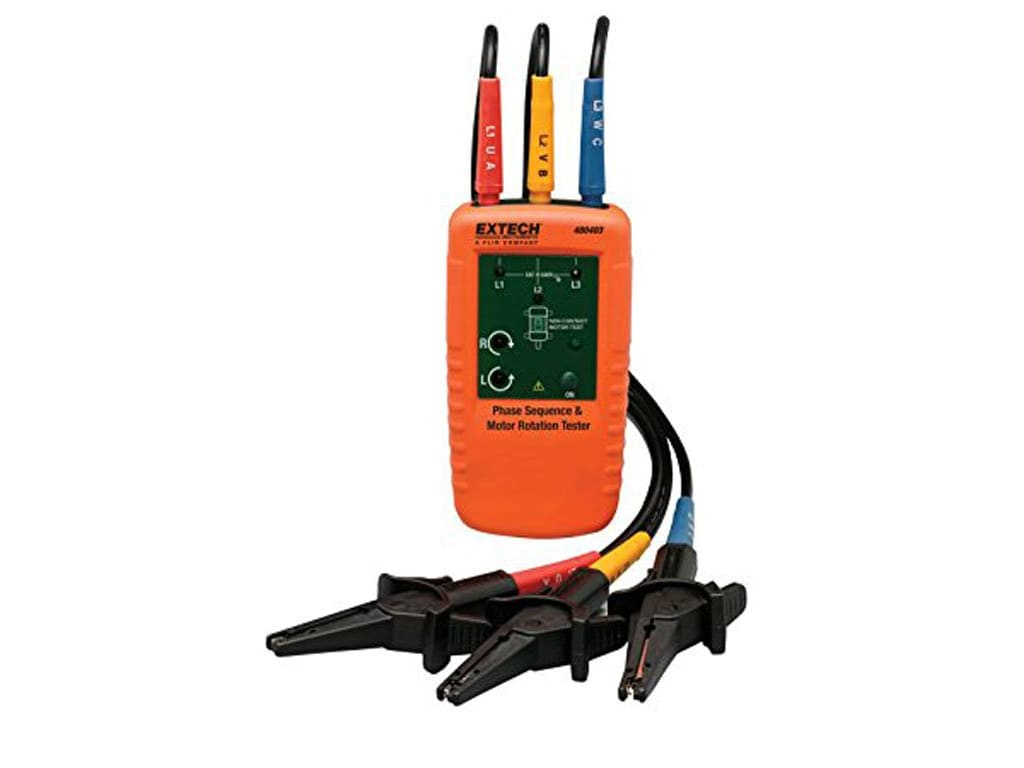 Extech 480403 Phase And Rotation Meters