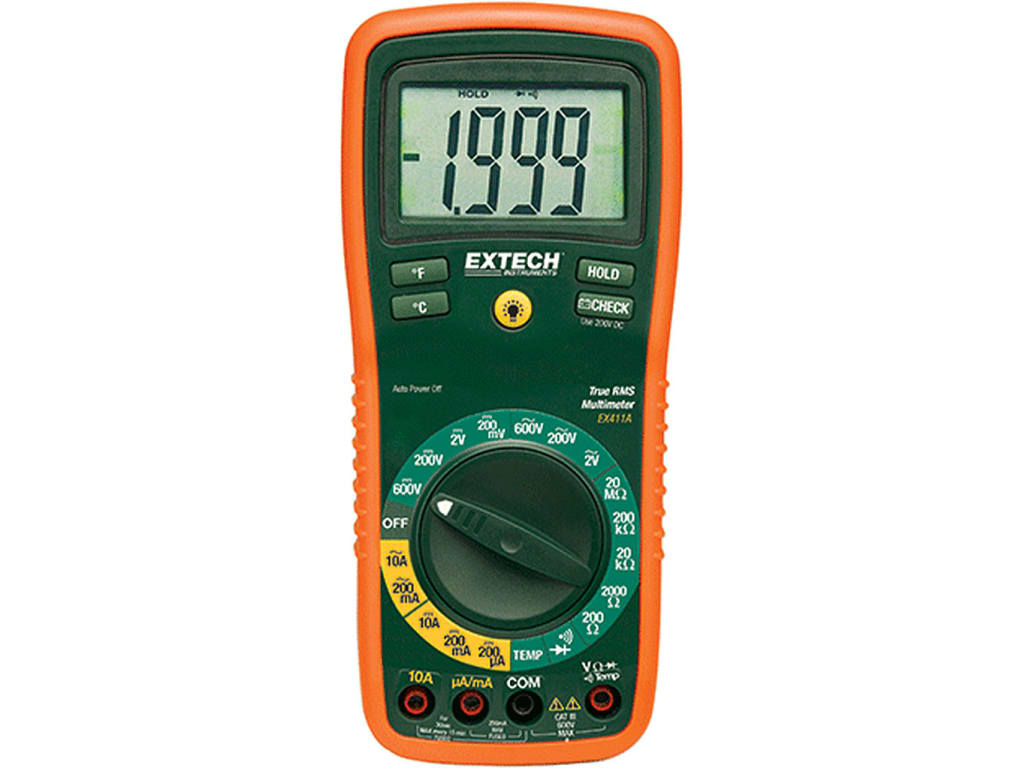 Extech EX411A Professional MultiMeter with 8 Functions