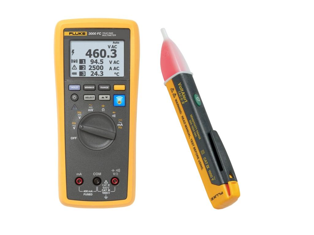 Test, Measurement & Inspection Fluke T3000 FC Wireless K-Type ...