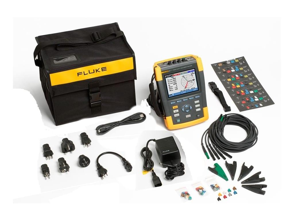 Fluke 435 Ii Power Analyzer Rent Eco Rental Solutions