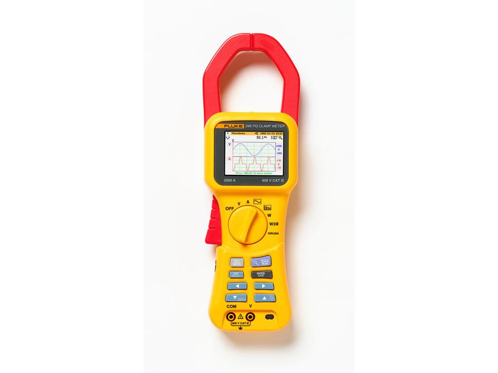 Fluke 345 Power Quality Clamp Meter Tequipment