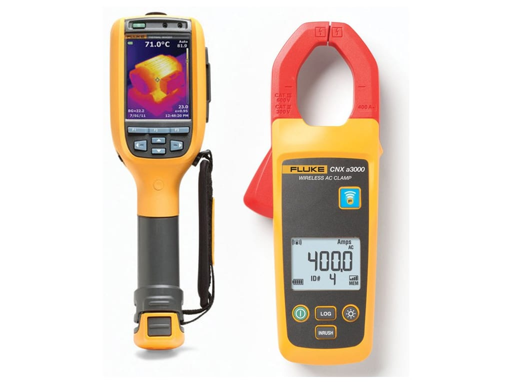 Fluke FLK-TI100//C1A 9Hz General Purpose Thermal Imager with 1 CNX-A3000