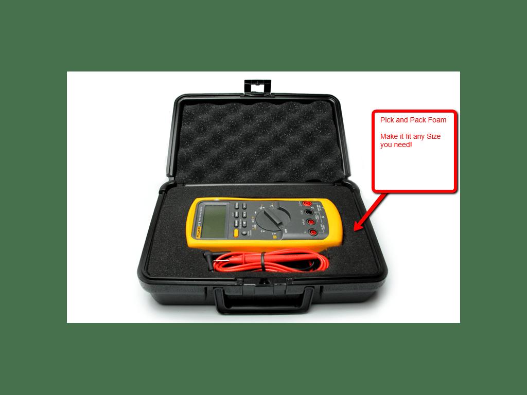 Fluke 117 Hd Handheld Multimeter With Hard Case Tequipment