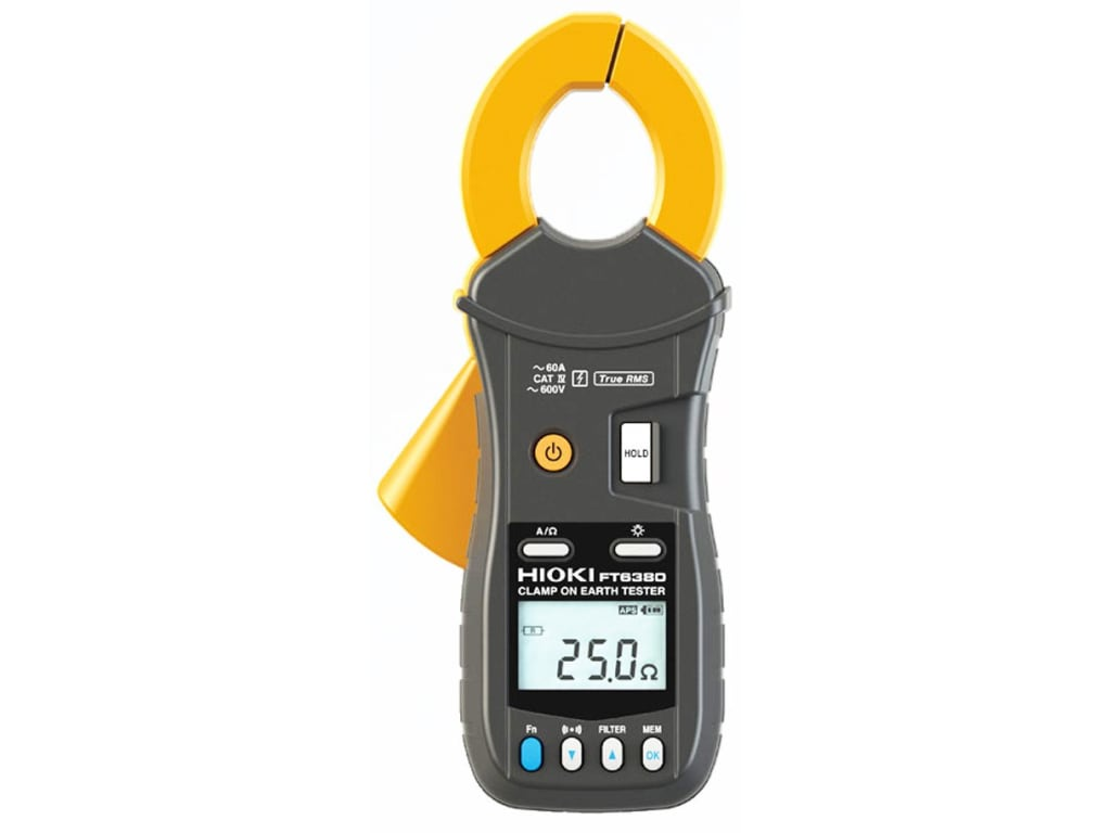 Hioki Ft6380 Clamp On Earth Tester Tequipment