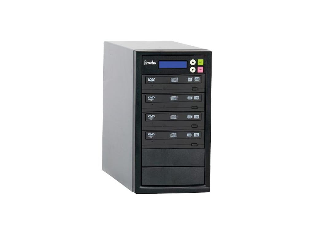 Recordex Dvd300 Techdisc Pro Dvd Duplicator 1 Source Drive 3 24x 48x Dvd Cd Record Drives Touchboards