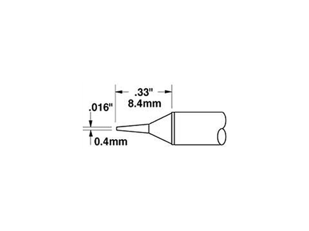 Conical 0.016 In Metcal STTC-122LL Cartridge LL FREE SHIPPING!! 0.4mm