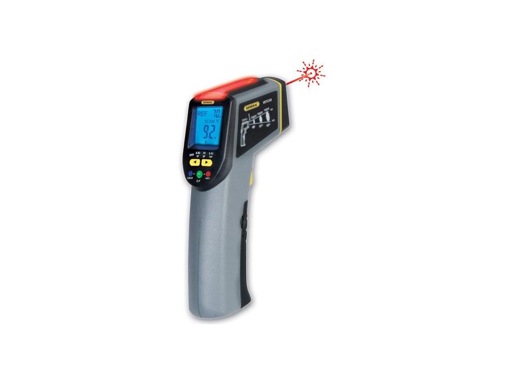 General Tools Irtc50 Energy Audit Ir Thermometer Scanner Tequipment
