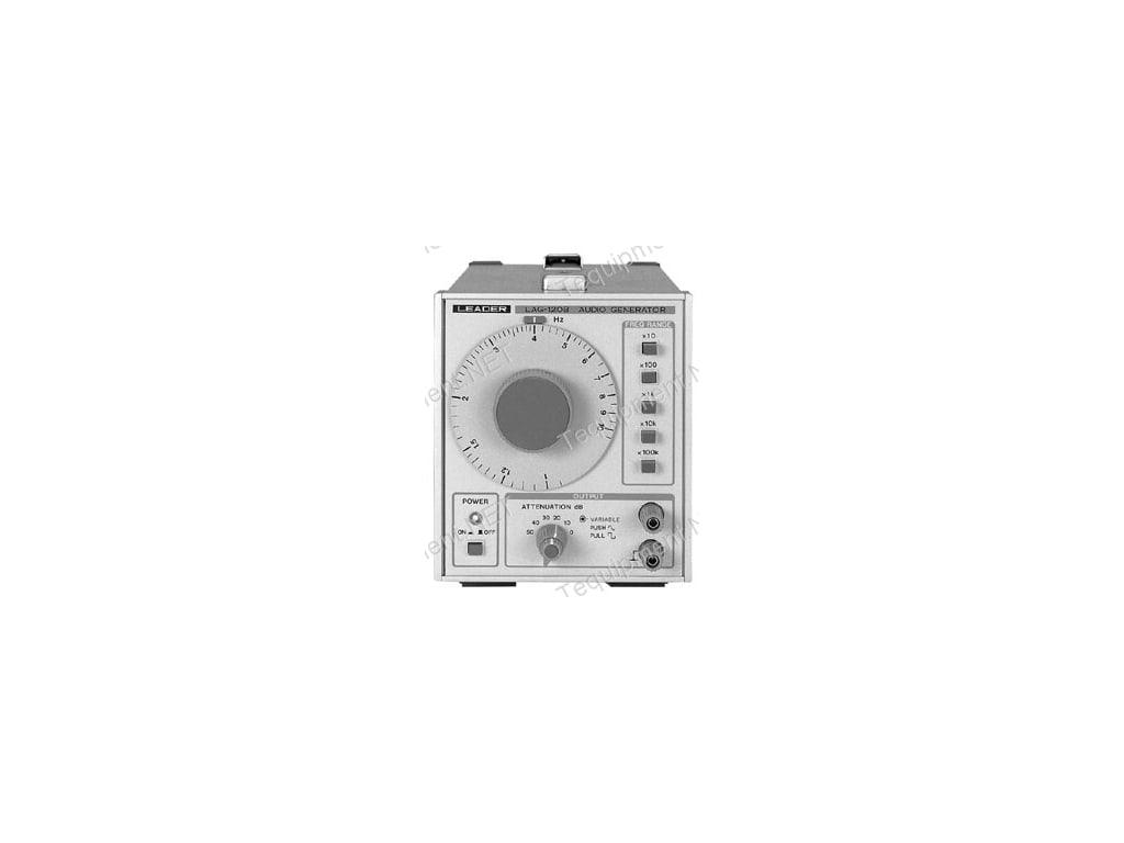 Leader lag-125 audio-generator instruction sch service manual.