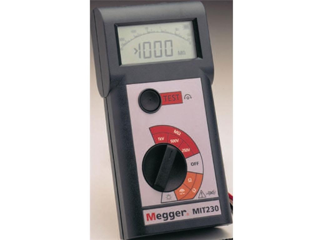 MEGGER MIT200 Battery Operated Megohmmeter,500VDC