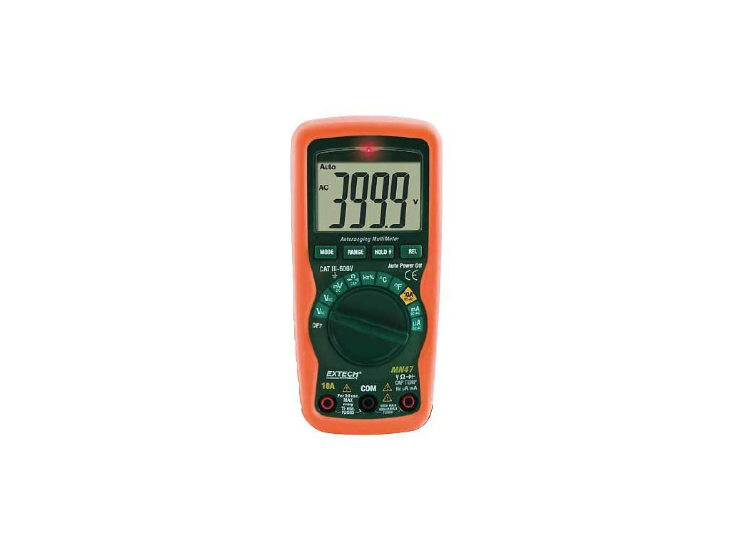 Extech MN47 12 Function Compact Multi-Meter with NCV