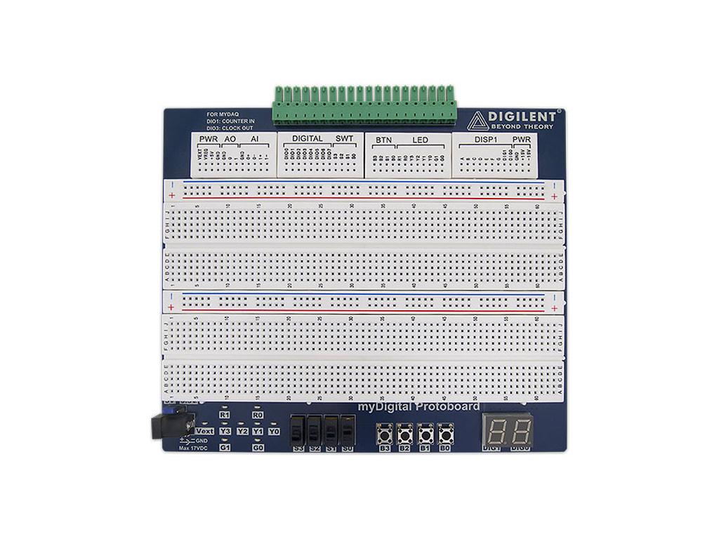 6002-410-006 myDigital Protoboard for NI myDAQ myRIO