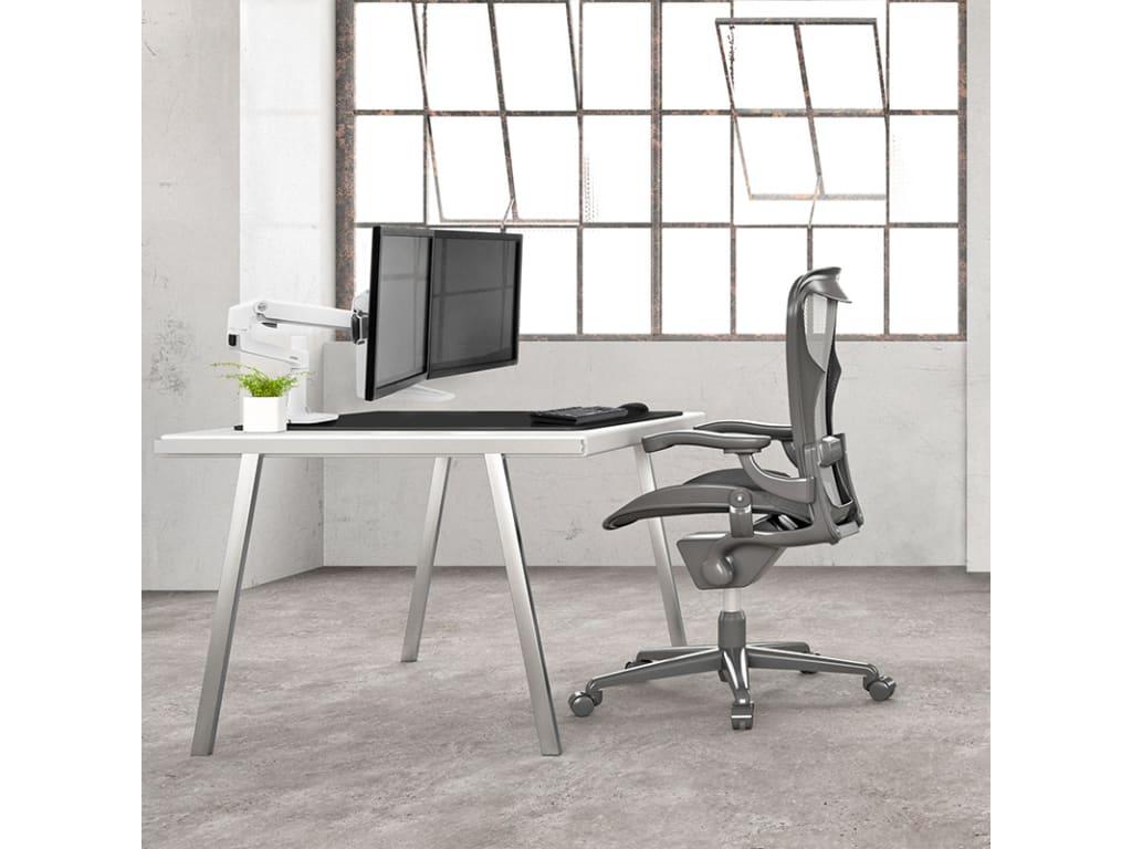 Ergotron 45 544 216 Lx Desk Dual Direct Arm No Clamp
