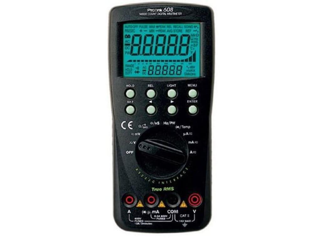 8ab0d48119c Protek 608 Digital Multimeter | TEquipment
