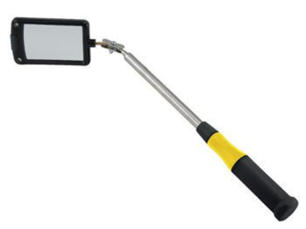 General 80560 Telescoping Lighted Inspection Mirror