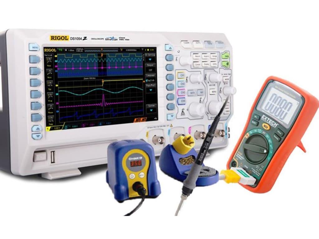 7793ed7482e890 Rigol DS1054Z Kit3 Digital Oscilloscopes | TEquipment