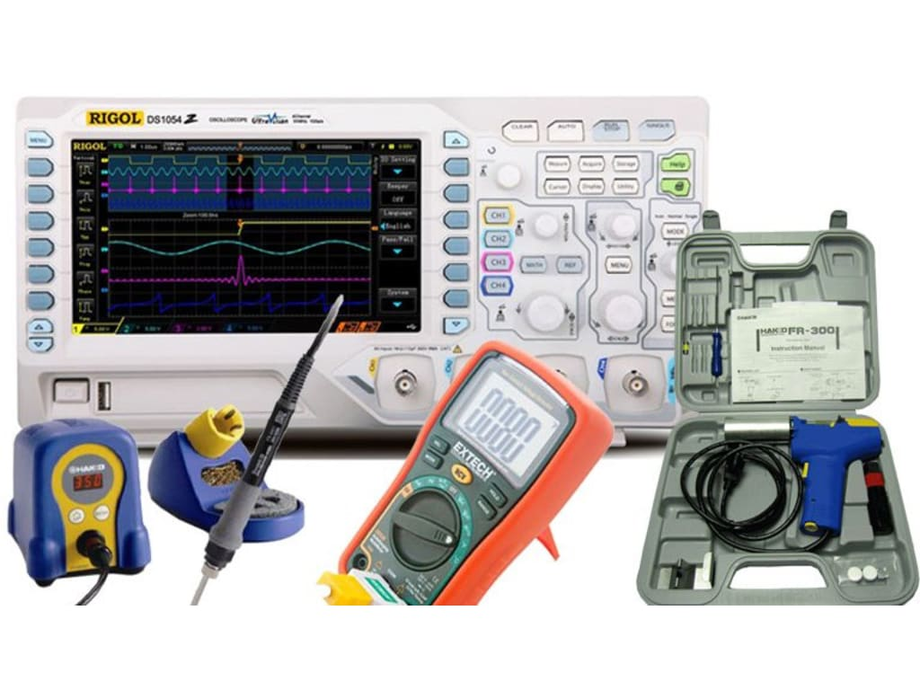 e0de6e358b7 Rigol DS1054Z Kit5 Digital Oscilloscopes | TEquipment