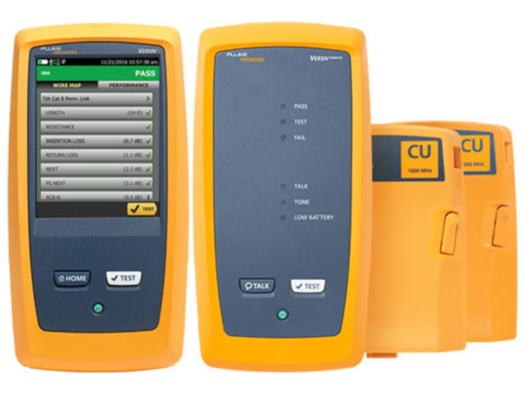 Fluke Networks DSX-8000QI DSX-8000 with Quad OLTS and ...