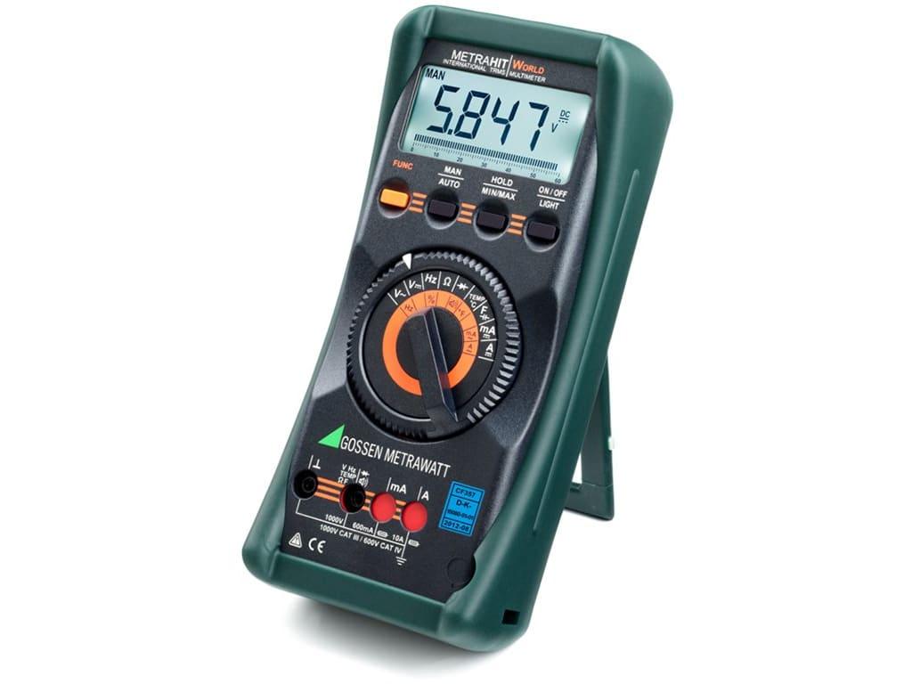 Gossen Digital Multimeter Metrahit 2+ m205a Measuring & Layout Tools Other Measuring & Layout Tools