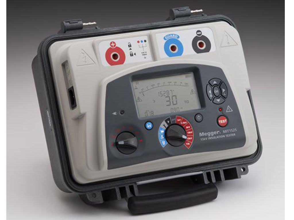Megger MIT1525-US 15 kV Industrial Insulation Tester