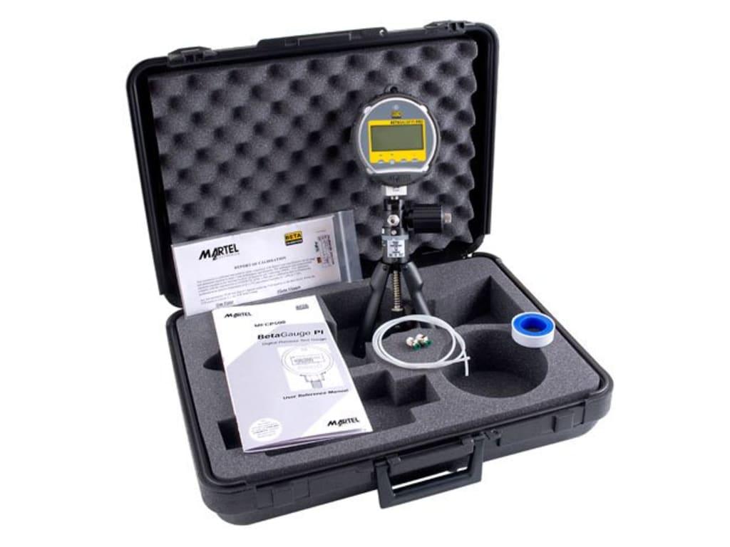 Martel 1919220 Digital Test Gauge Kit with 0 to 30 PSI (2