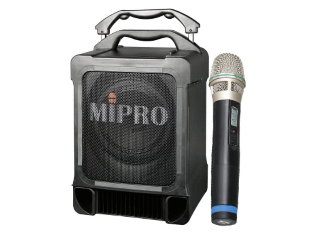 MIPRO MA707PADM5AH Portable 100-Watt PA System With CD