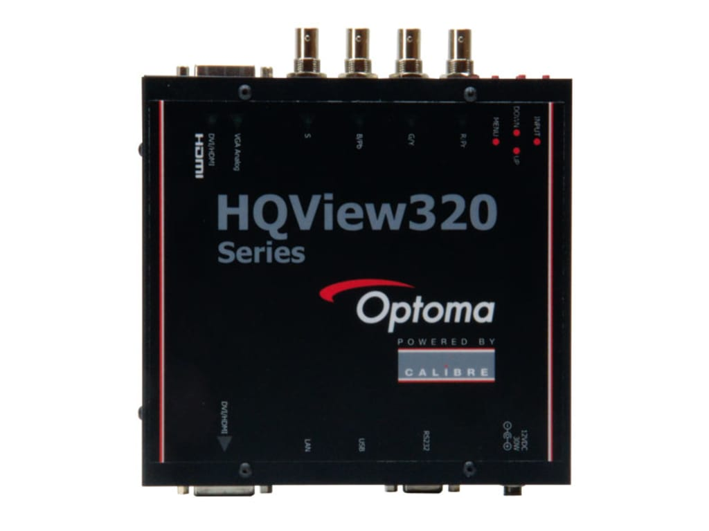 Optoma HQV320 Scaler with Warp Mapping And Edge Blend | Touchboards