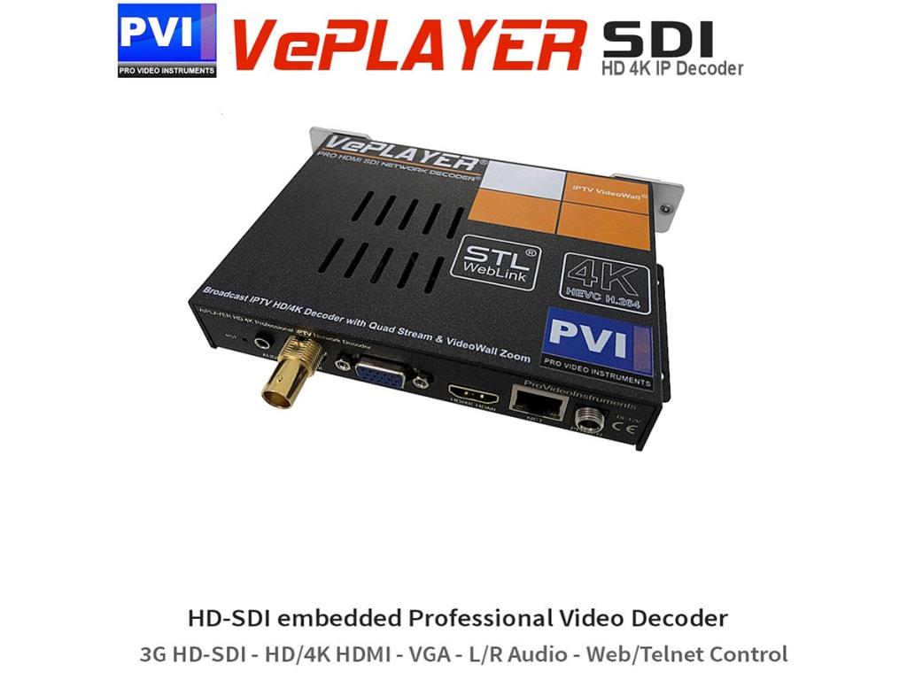 VePlayer SDI