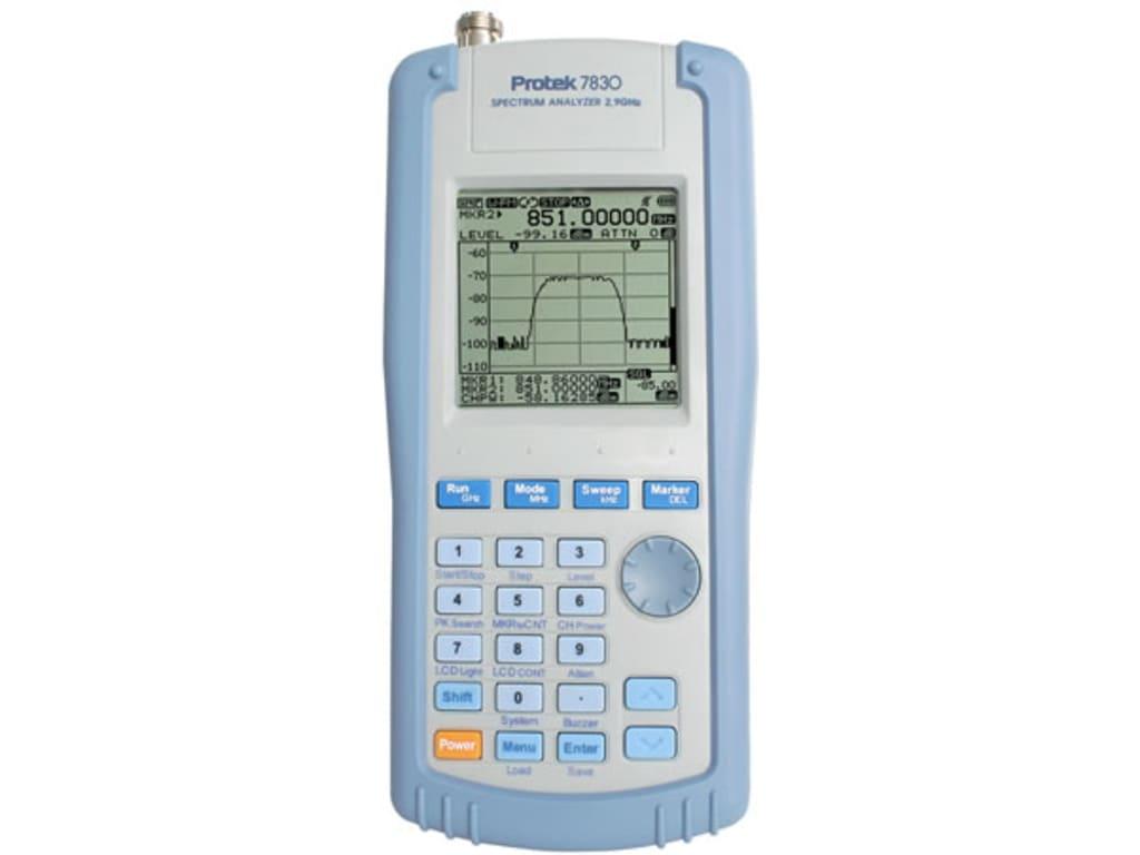 fd0f8da3d42 Protek 7830 2.9GHz Handheld Spectrum Analyzer Protek 7830 | TEquipment