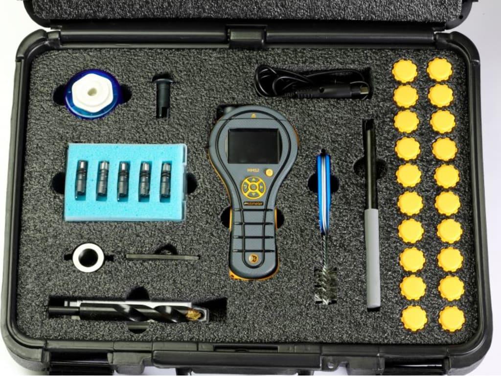Protimeter Mms2 Flooring Kit Moisture Meter For Astm F2170