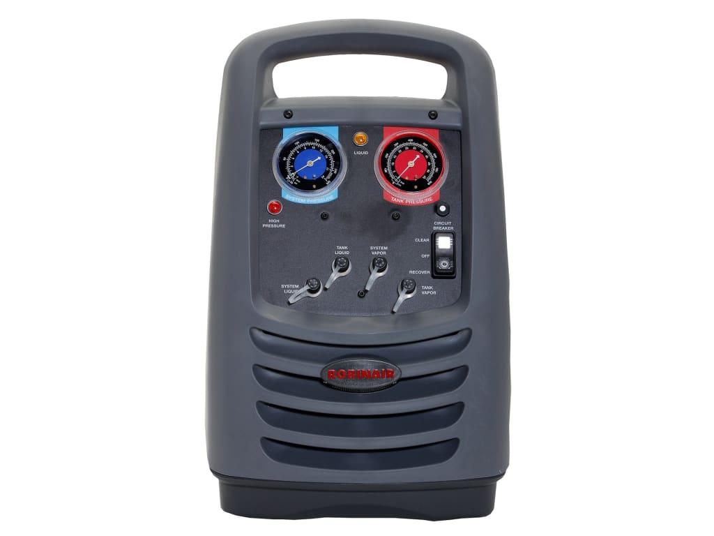 Robinair Ac Machine >> Robinair 25201b Refrigerant Recovery Machine 220 240 Volt