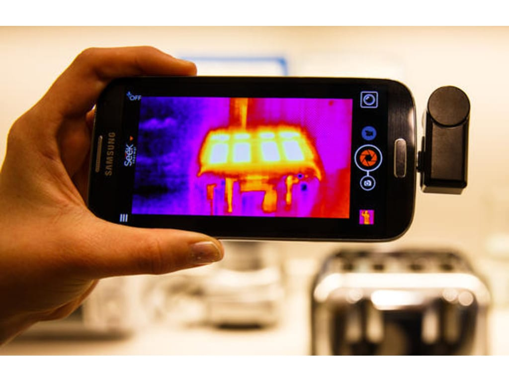Seek Thermal Camera >> Seek Thermal Compactxr Thermal Imaging Camera For Android Extended
