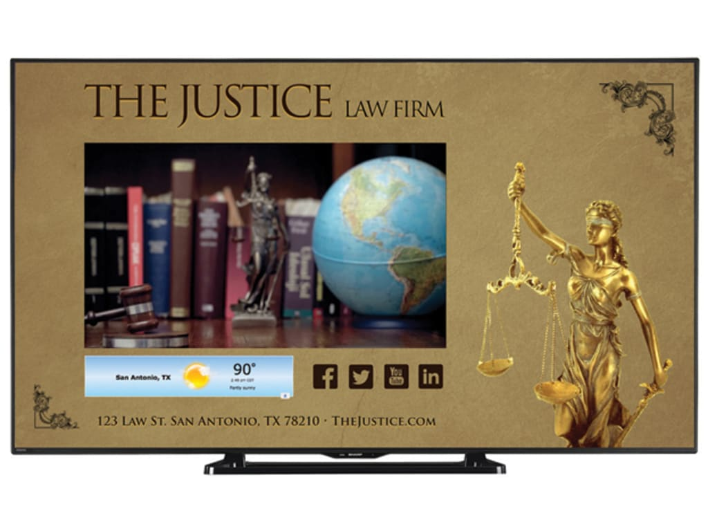 Sharp LC-80LE661U 80-inch Class Commercial LED Smart TV with