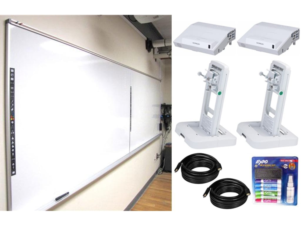Steelcase Enoflex Silver Kit Interactive Whiteboard
