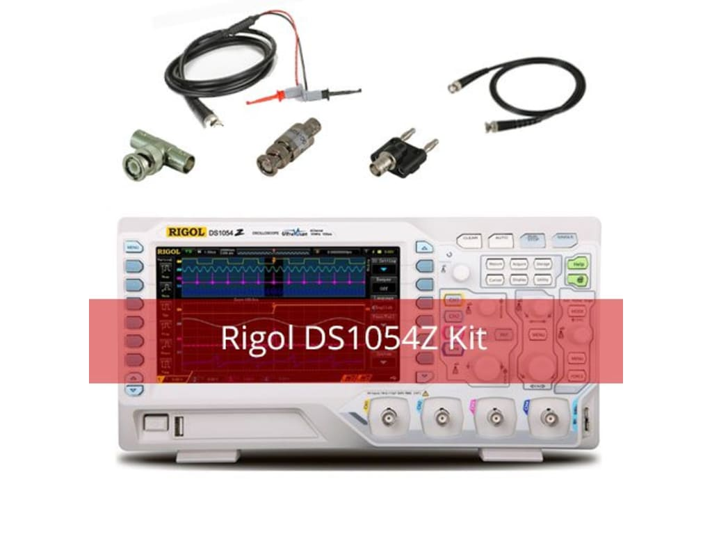 93e874a4e2b Rigol DS1054Z-Kit1 Digital Oscilloscopes - Bandwidth: 50 Mhz ...