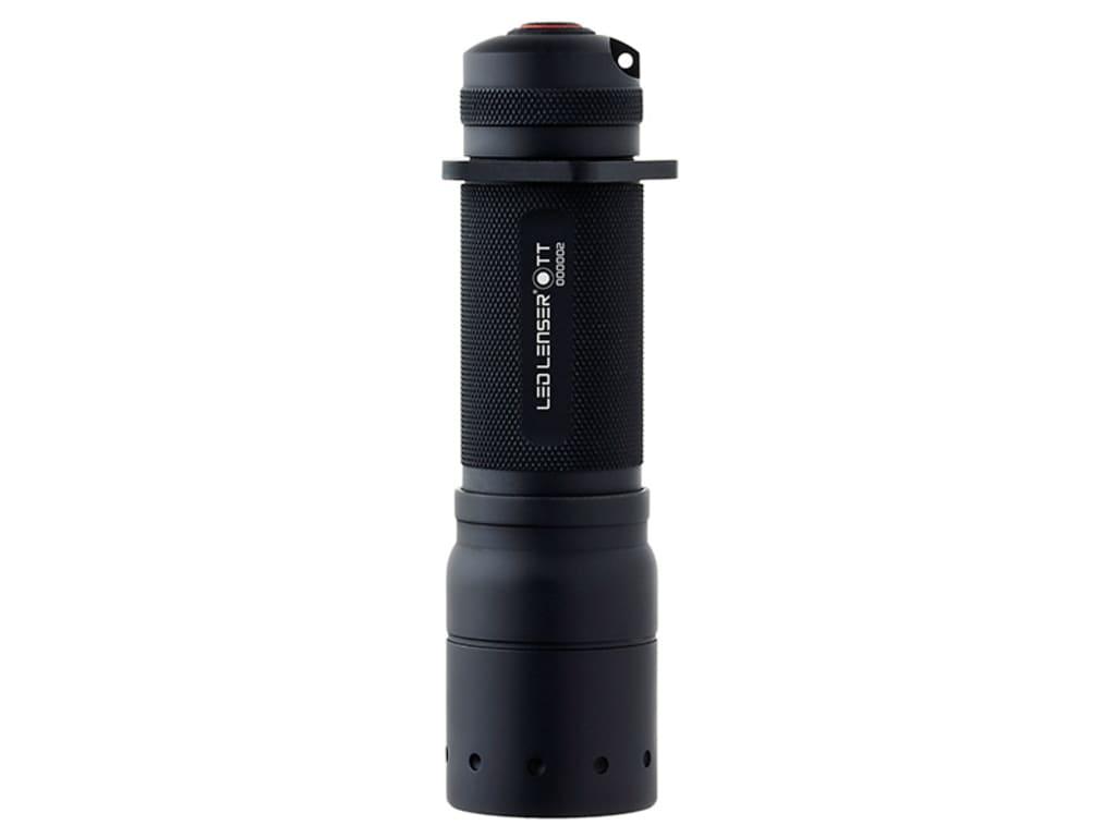 LED Lenser TT 280 Lumens LED Flashlight Outdoor Sports Black 880227 Camping & Hiking Lighting